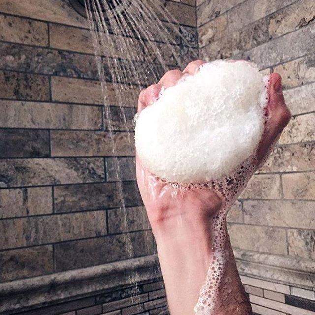 Men's Super Body Wash Infused Buffer