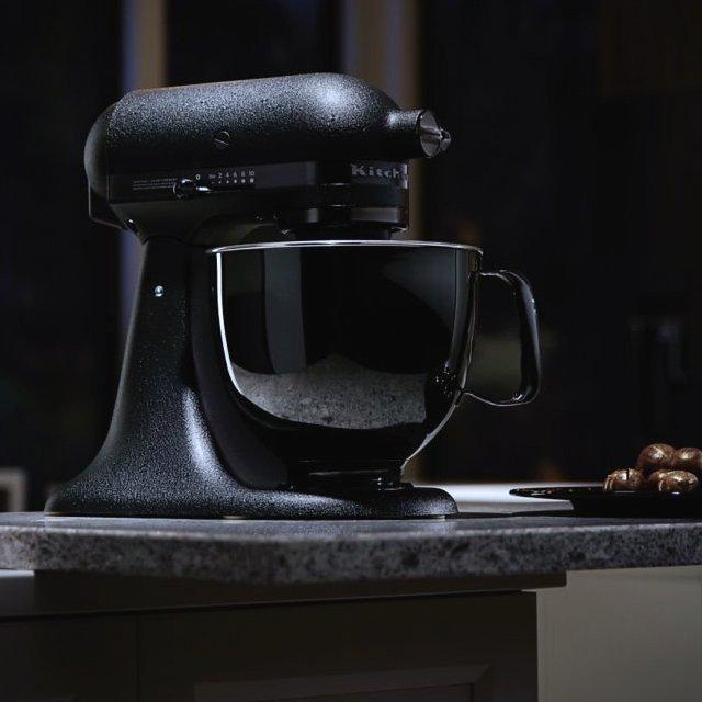 Artisan Black Tie Stand Mixer