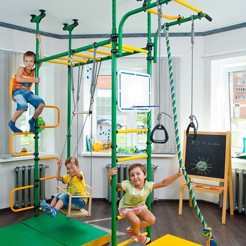 Spider-Wall Indoor Playground