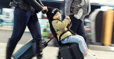 Bagrider Ride-On Suitcase Harness