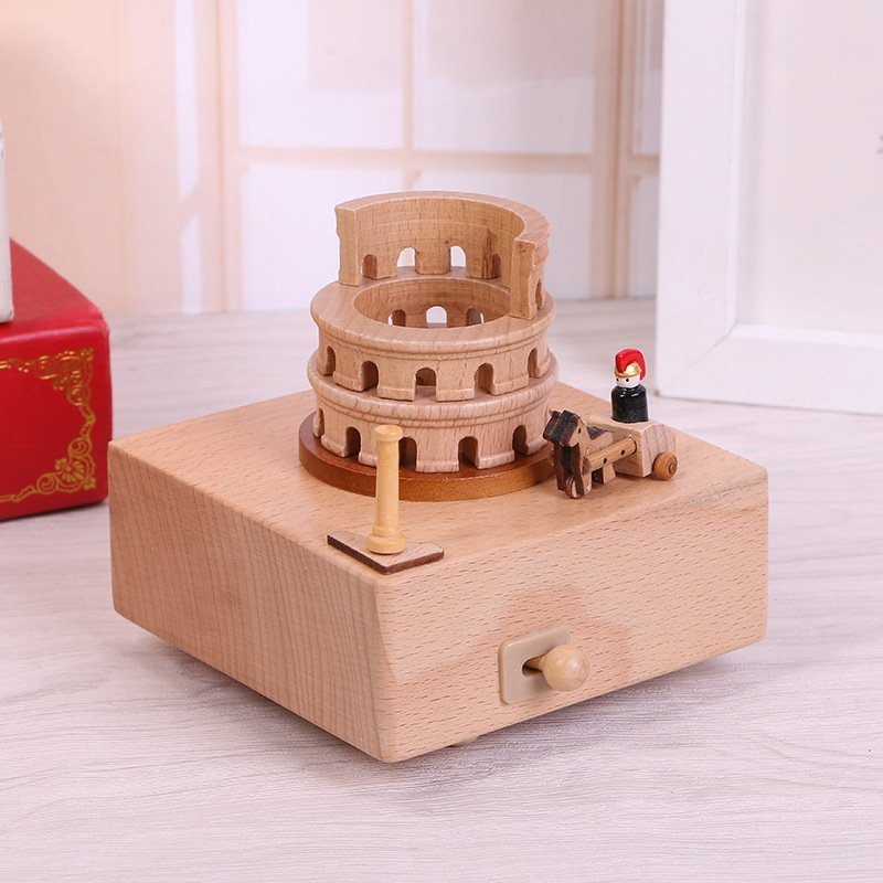 The Roman Colosseum Music Box