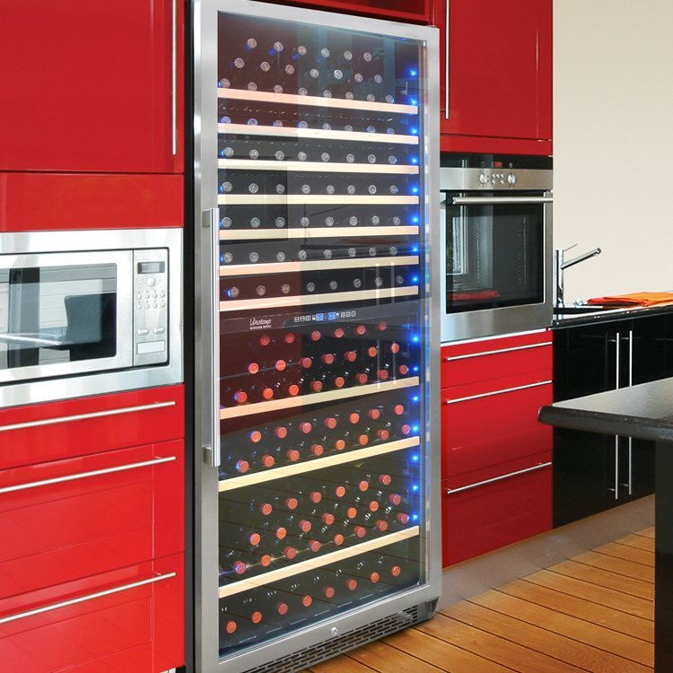 Vinotemp 300 Bottle Dual Zone Wine Cooler