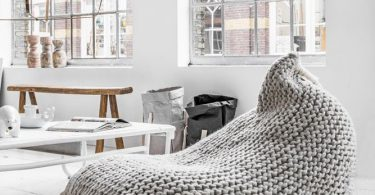 Nest Knitted Bean Bag