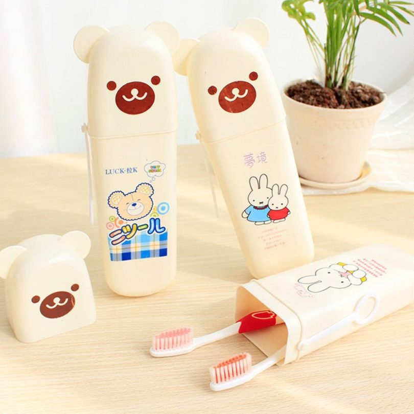 Travel Toothpaste Toothbrush Holder Storage
