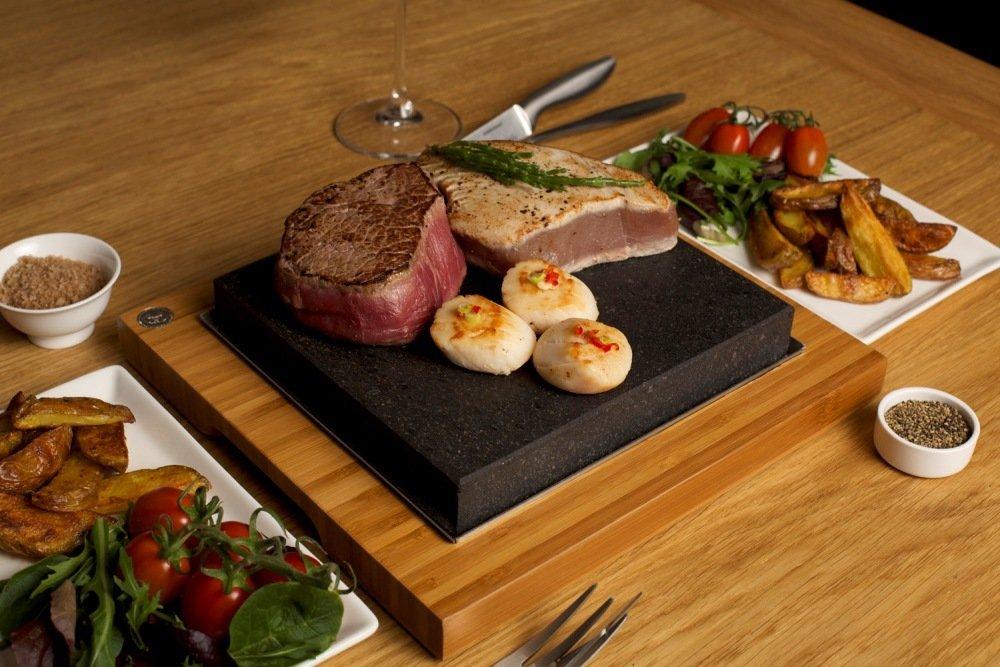 The SteakStones Sharing Steak Plate