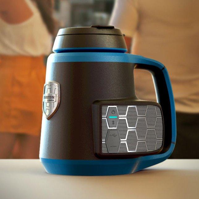 Dubstein Bluetooth Speaker Beverage Holder