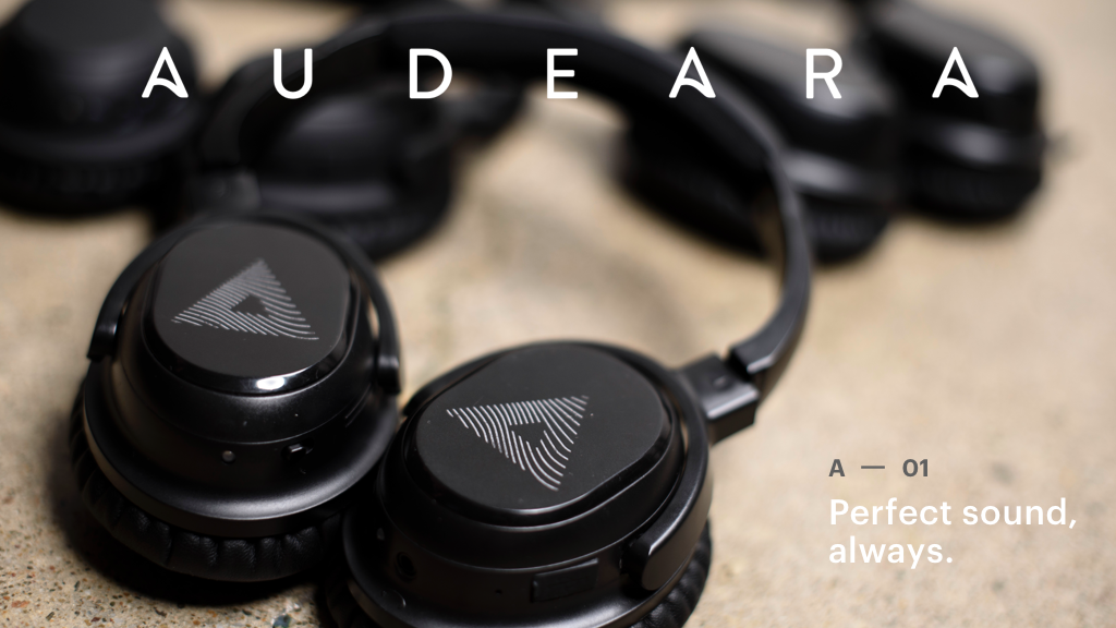 Audeara: headphones that deliver perfect sound, always.