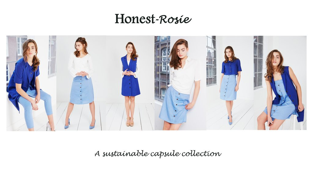 Sustainable capsule collection | 6 pieces = 30 outfits!