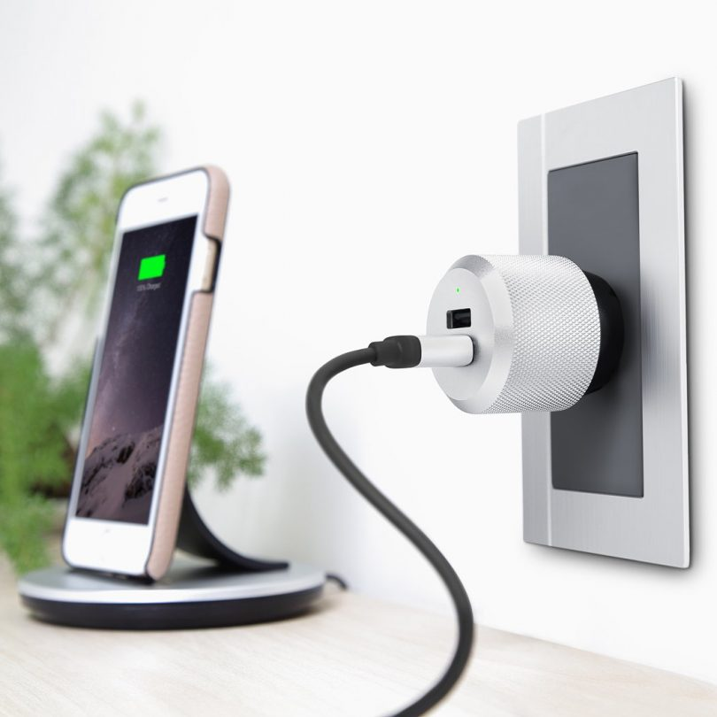 AluPlug 2-Port USB Luxury Wall Charger High-Power