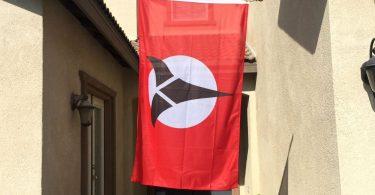 Klingon Banner Flag