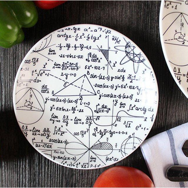 Geometric Tapas Plate