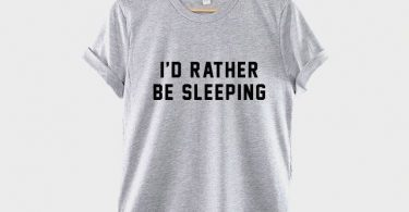 I'd Rather Be Sleeping T- Shirt