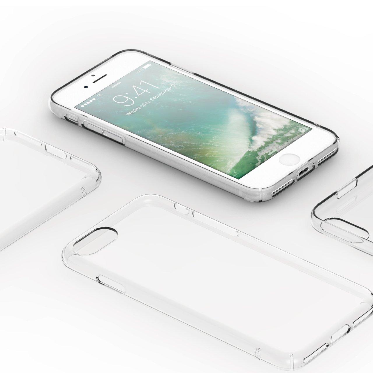 TENC Self-Healing Minimalist Slim Clear Case for iPhone