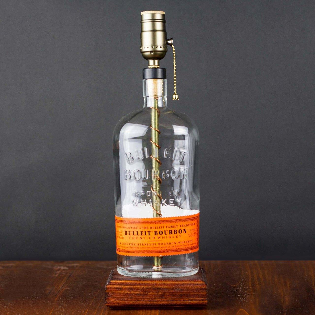 Bourbon Bottle Lamp 187 Petagadget