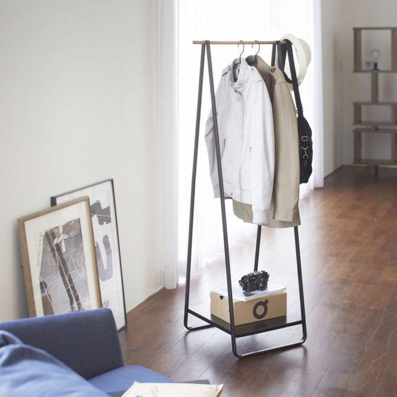 Black Tower Free Standing Hanger