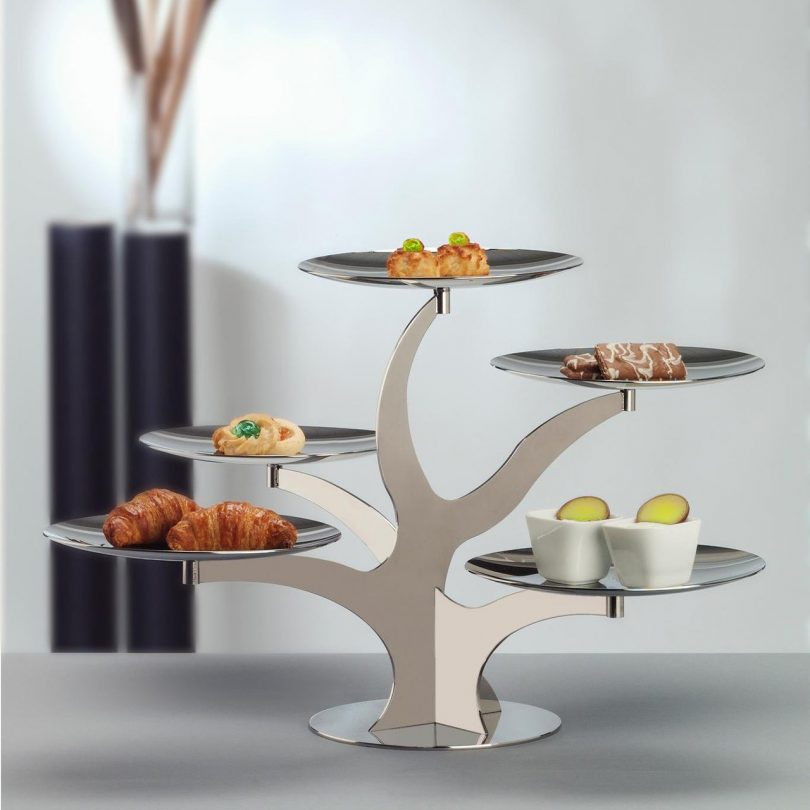 Alzate Modern 5 Tier Serving Stand