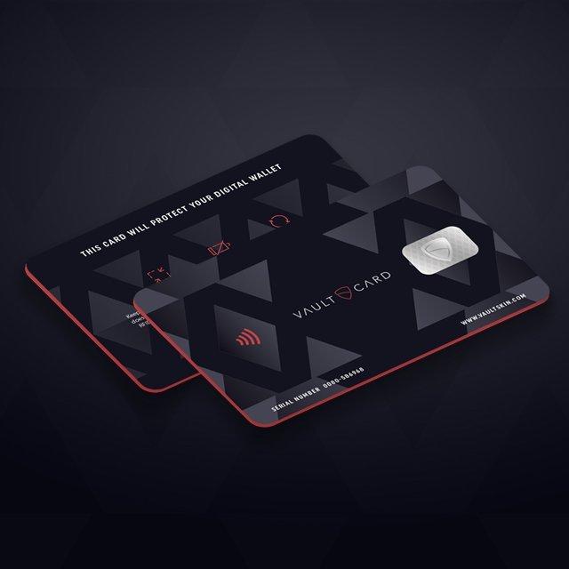 VaultCard RFID Protection Wallet Card