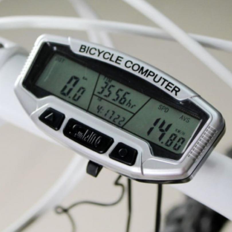 Multi-function Waterproof LCD Bike Speedometer