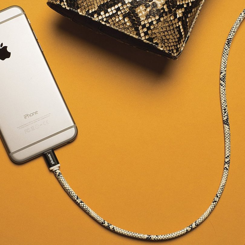 Lifestar Handcrafted Snake Bite 1M Apple MFi Certified Cable