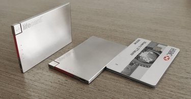 LifeCard – World's Thinnest Portable Power – Micro USB Cable