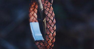Brown Cognac Italian Leather Bracelet