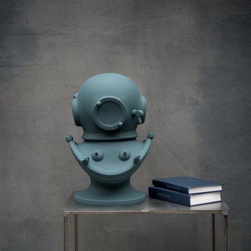 Diver's Helmet Berlin Blue Bust