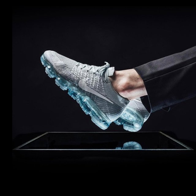 bcc75615317 Nike Air Vapormax Flyknit Pure Platinum. Reviewed by Alex. Thirty years of technological  innovation culminates on the crowning achievement of Air Max Day ...
