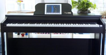 The ONE Smart 88-Key Digital Action Upright Grand Piano