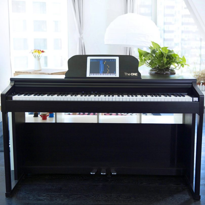 Digital Piano The One : the one smart 88 key digital action upright grand piano petagadget ~ Hamham.info Haus und Dekorationen