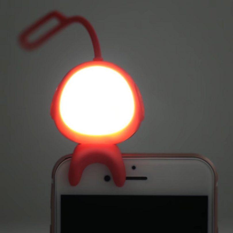 Alien Bluetooth LED Selfie Light
