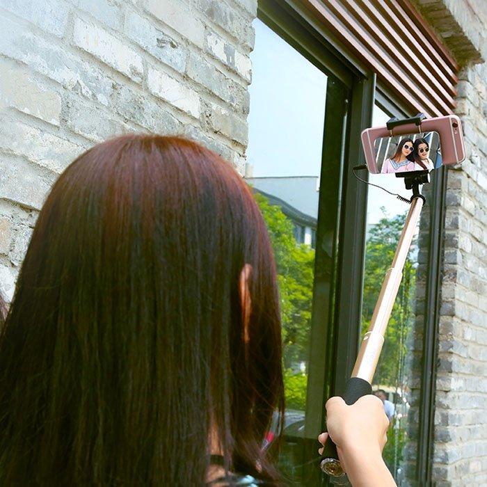 Selfie stick With Mirror