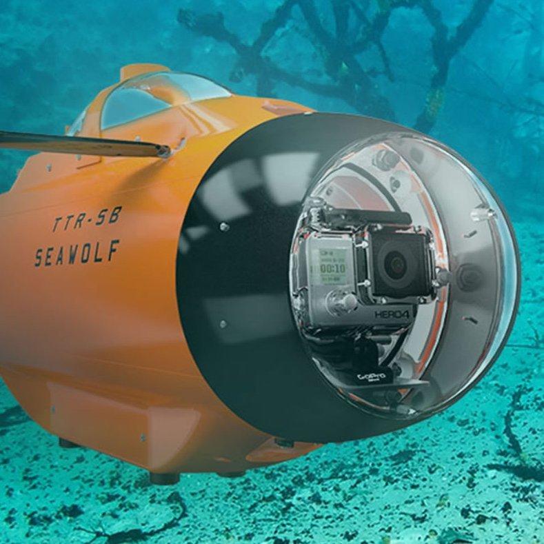 Underwater Live Video Drone