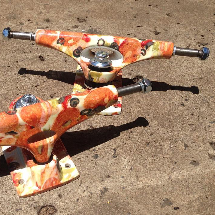 Pizza Skateboard Trucks by Krux