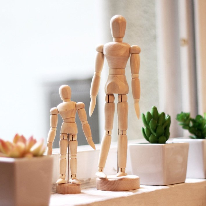 Wooden Human Mannequin