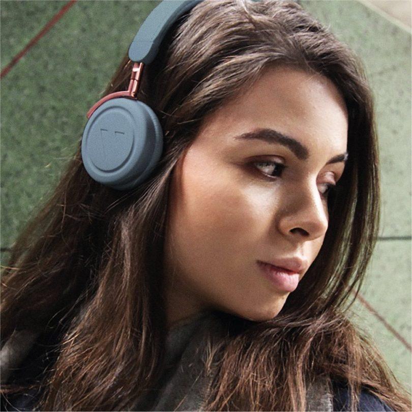 Slate Blue Commute Wireless Headphones