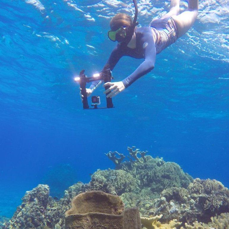 PolarPro Triton LED Waterproof GoPro Tray