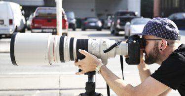 Canon EF 600mm Telephoto Lens