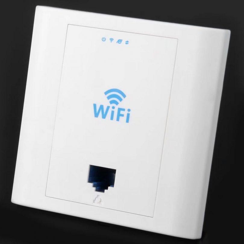 In-wall Wireless RJ45 AP