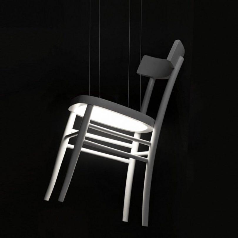 Ch'air Hanging Lamp
