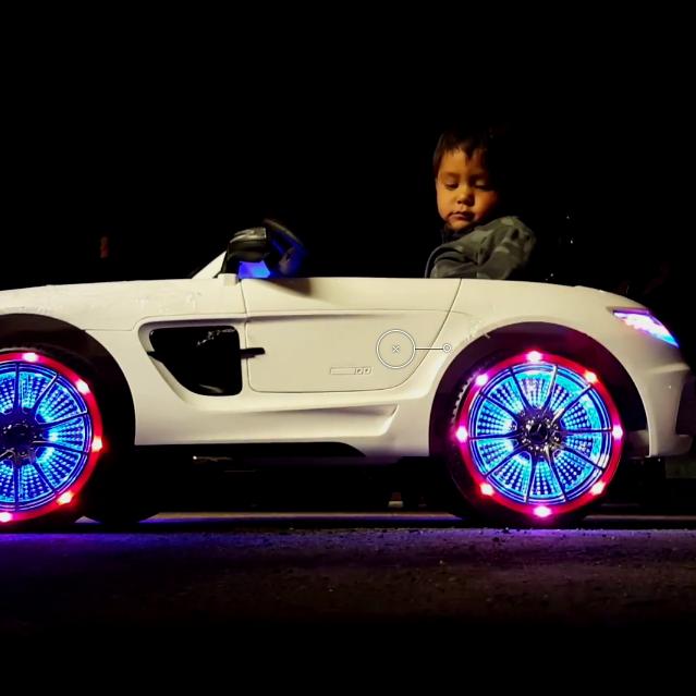 Mercedes Benz SLS AMG 12V Kids Ride-On Car