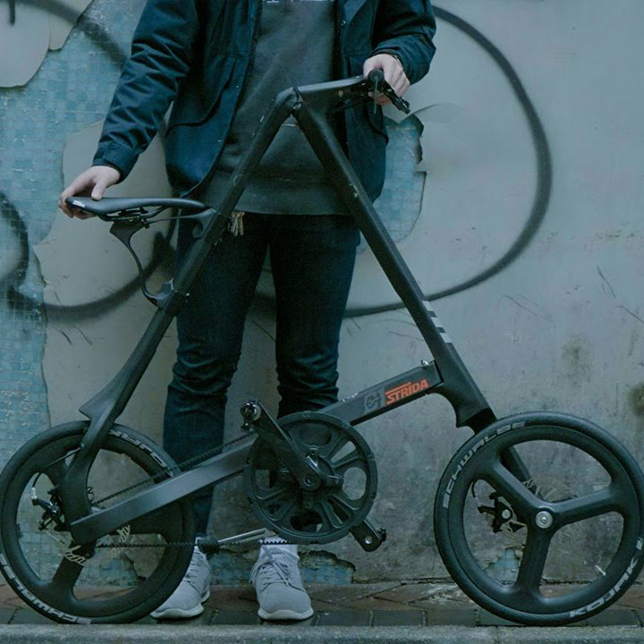 Strida C1 Carbon Fiber Folding Bike