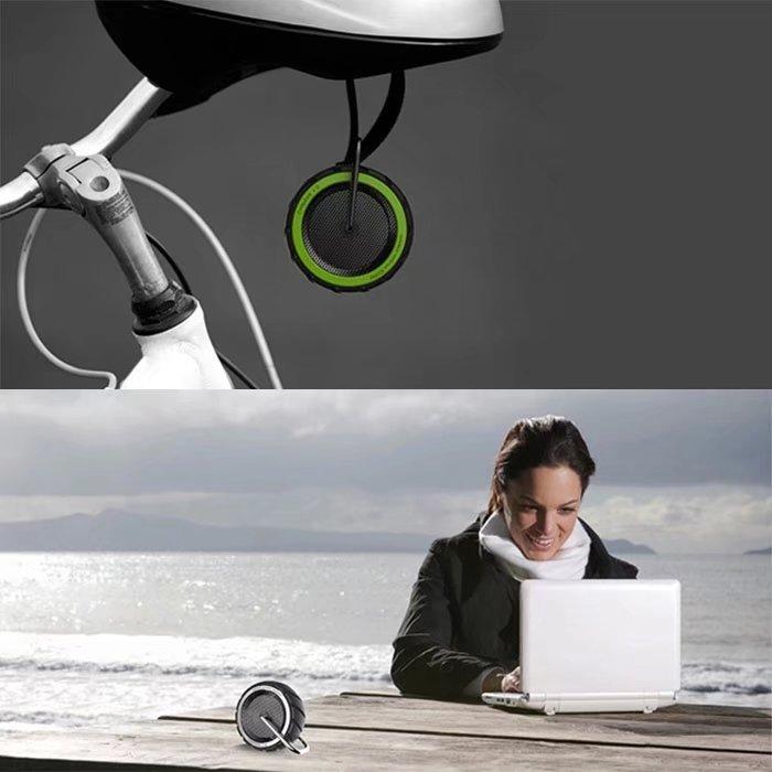 Wheels Style Waterproof Wireless Bluetooth Speaker