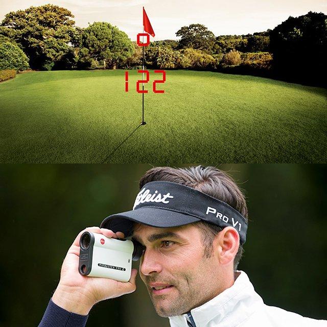 Leica Pinmaster II Golf Laser Rangefinder