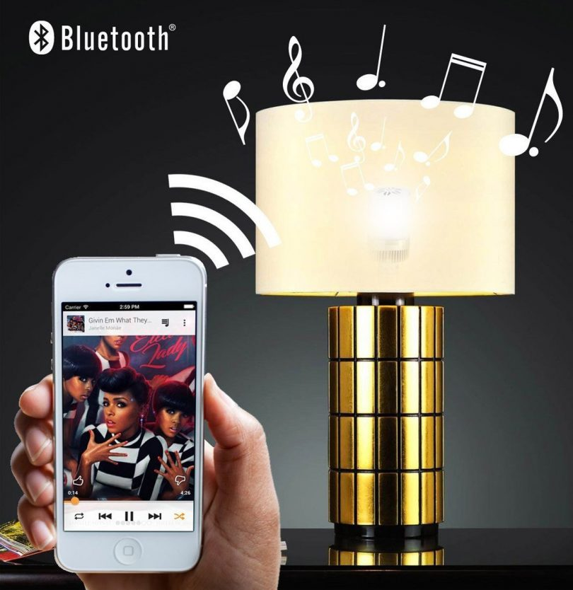 White Led Bulb Musical Bluetooth