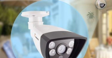TIGERSECU AHD 960P Weatherproof Outdoor IP66 Bullet Security Camera
