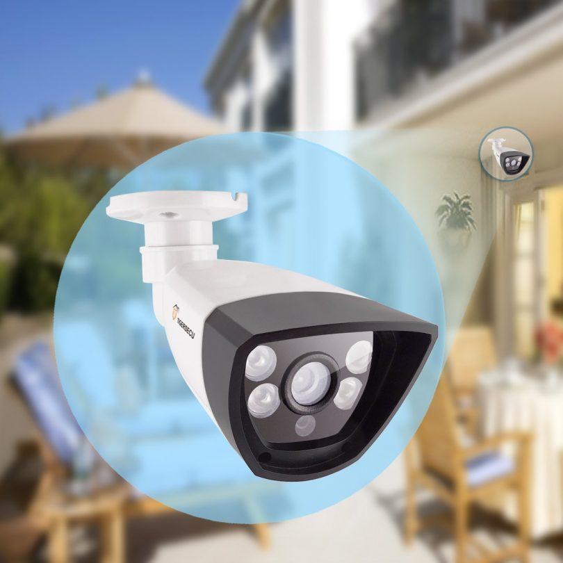 TIGERSECU AHD 960P Weatherproof Outdoor IP66 Bullet Security Camera