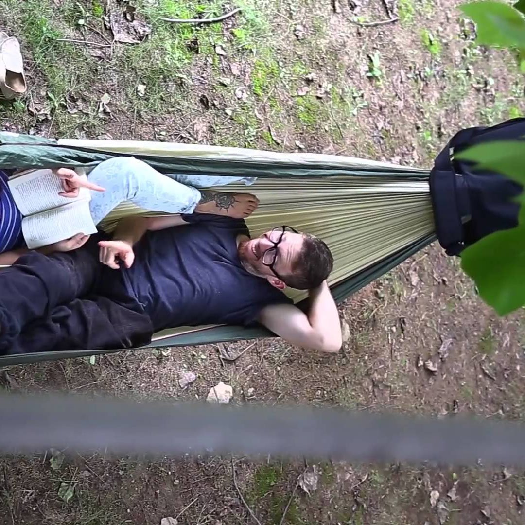 Swift Messenger Bag Hammock by HackedPack