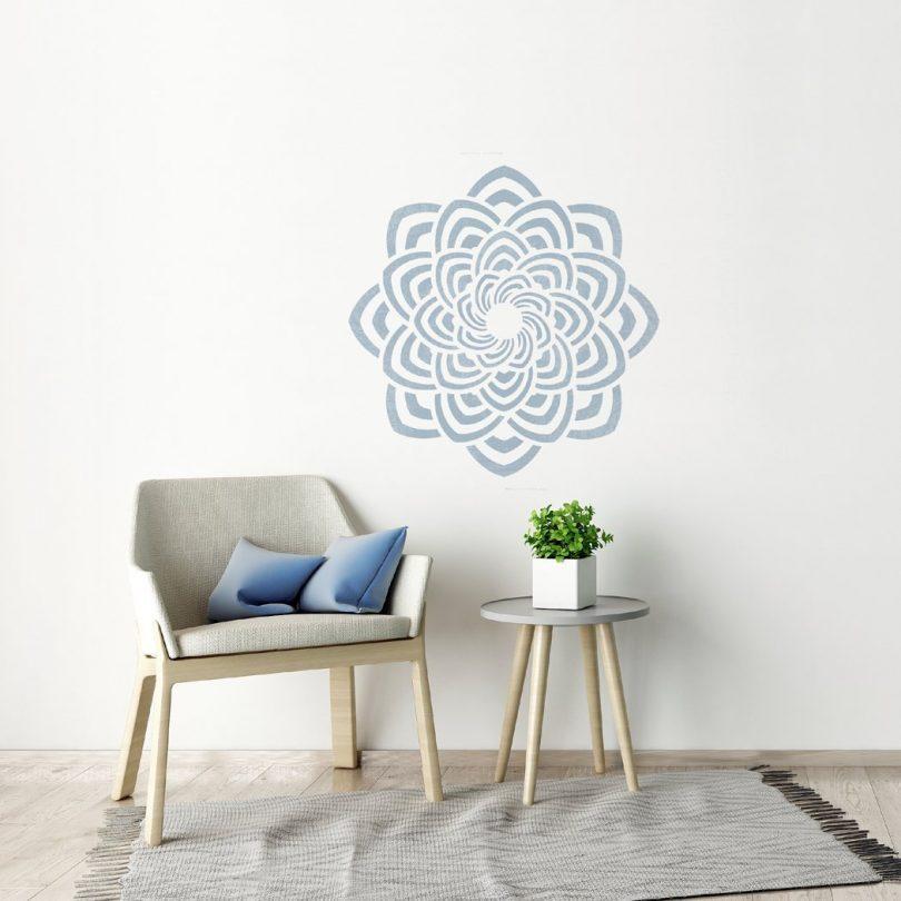 Geometric Mandala Unique Stencil Rajkot For Diy Home Decor Petagadget