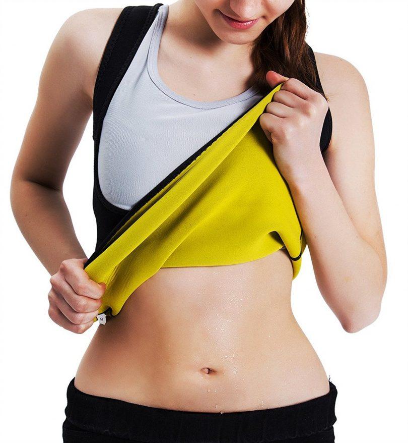 Aliex Womens Slimming Sweat Vest