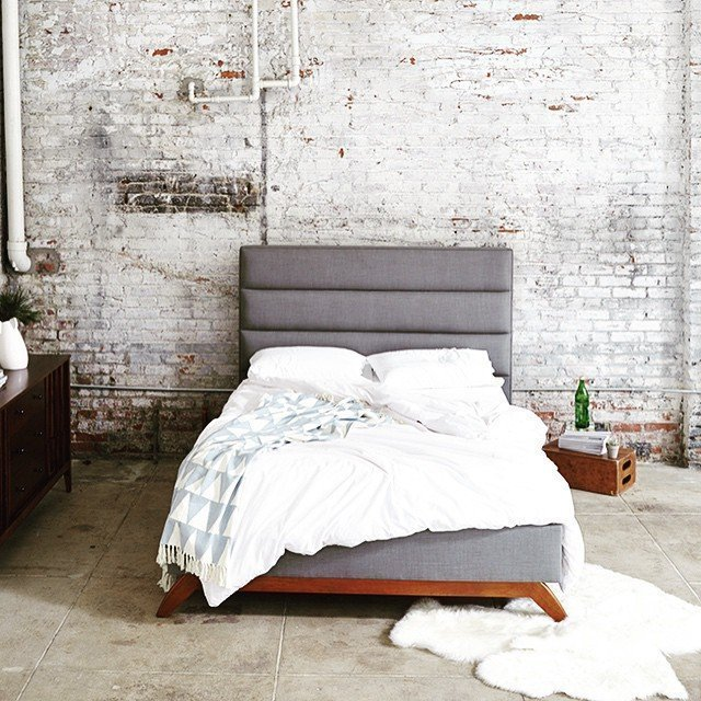 Cooper Upholstered Bed by Kyle Schuneman